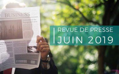 Revue de presse – juin 2019