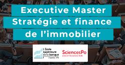 EXECUTIVE MASTER STRATÉGIE ET FINANCE DE L'IMMOBILIER